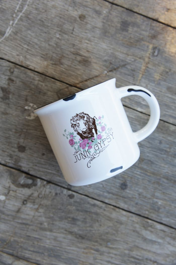 buffalo roses mug