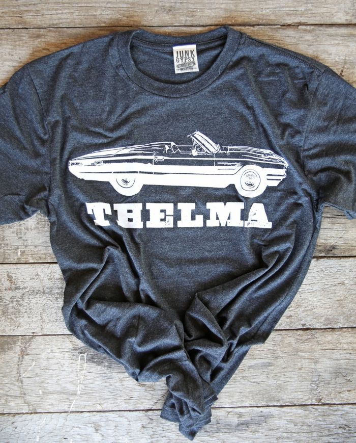 thelma and louise black unisex