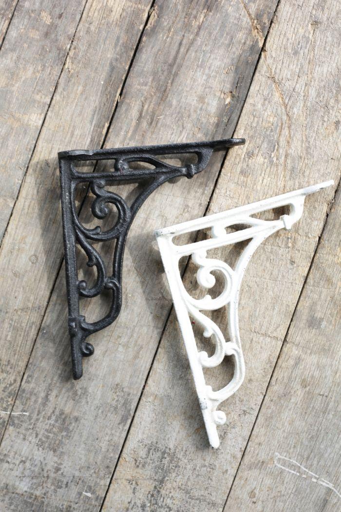 vendome iron bracket - white or black