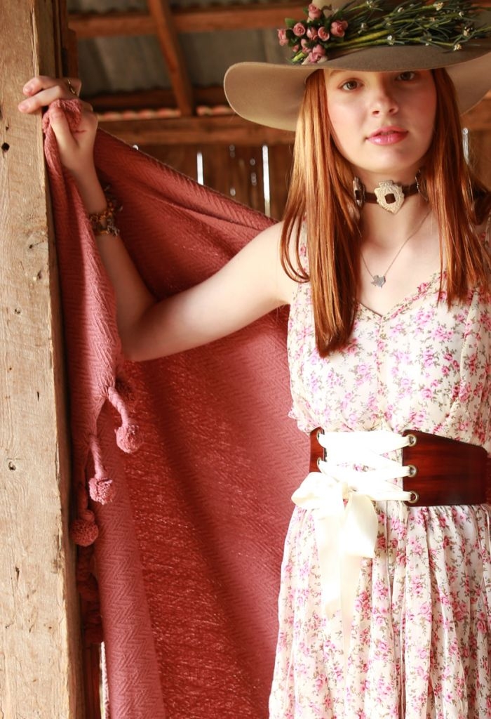 the prairie corset belt