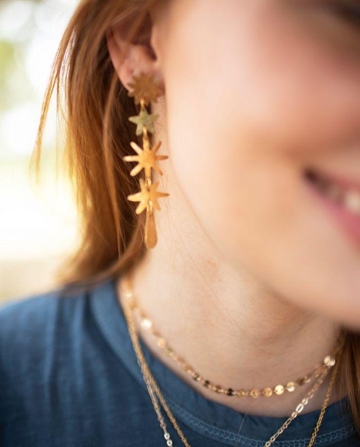 Starduster earring