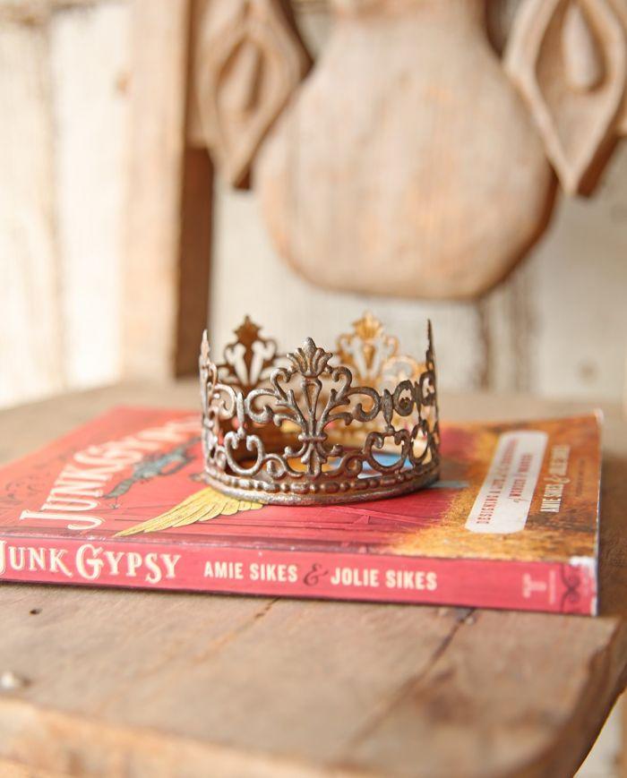 pierced tin crown