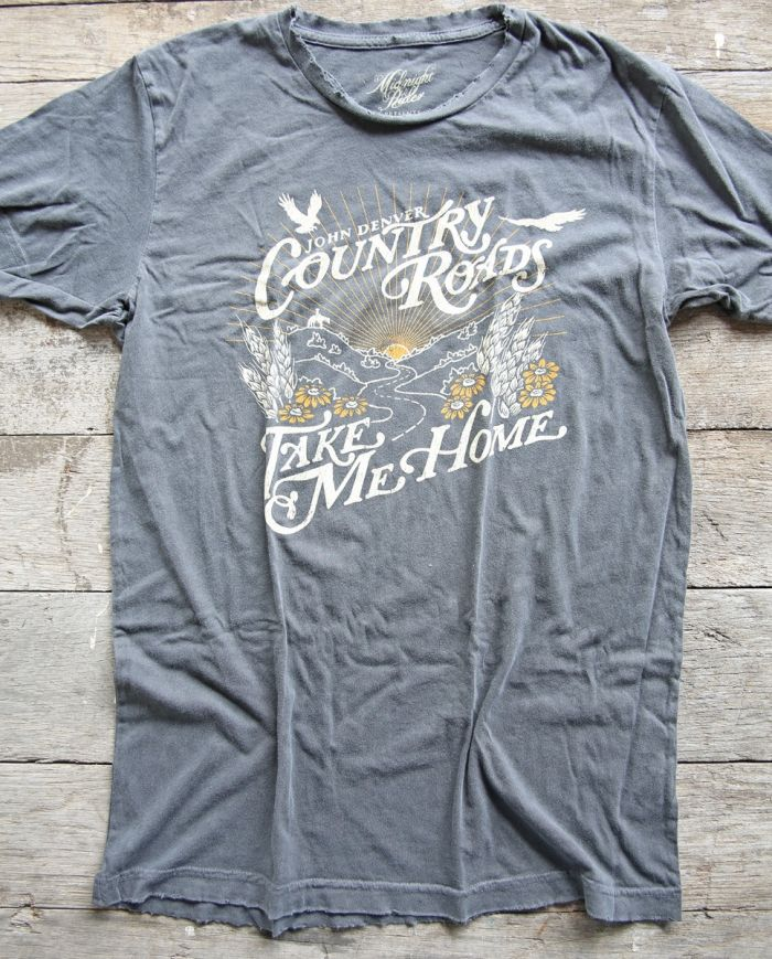 John Denver Country Roads tee