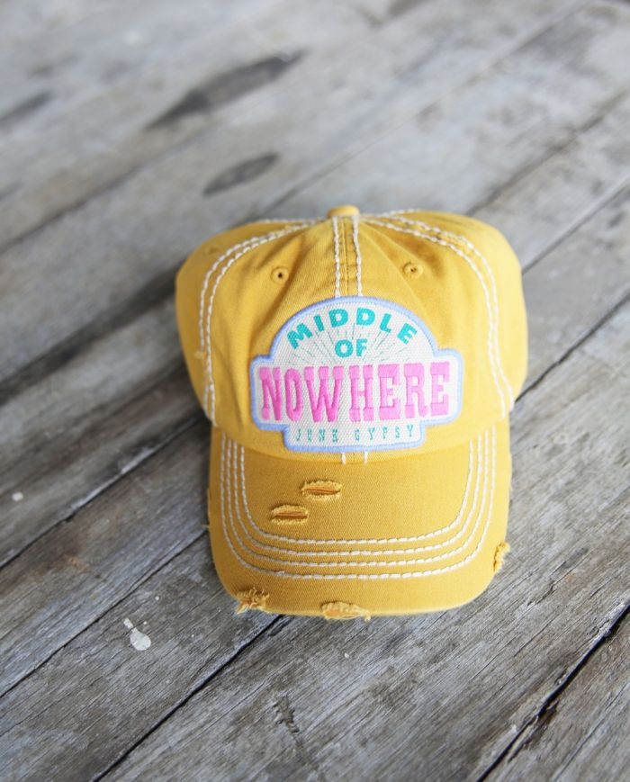 middle of nowhere cap