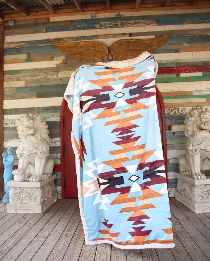 alameda sherpa blanket