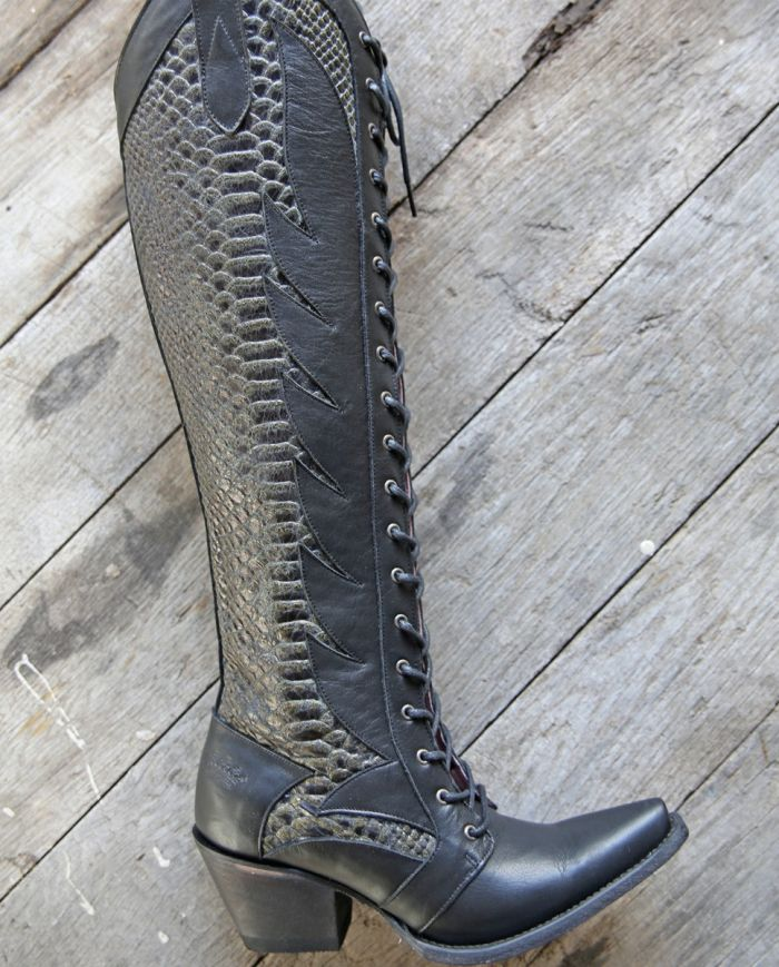 the trail boss boot - black