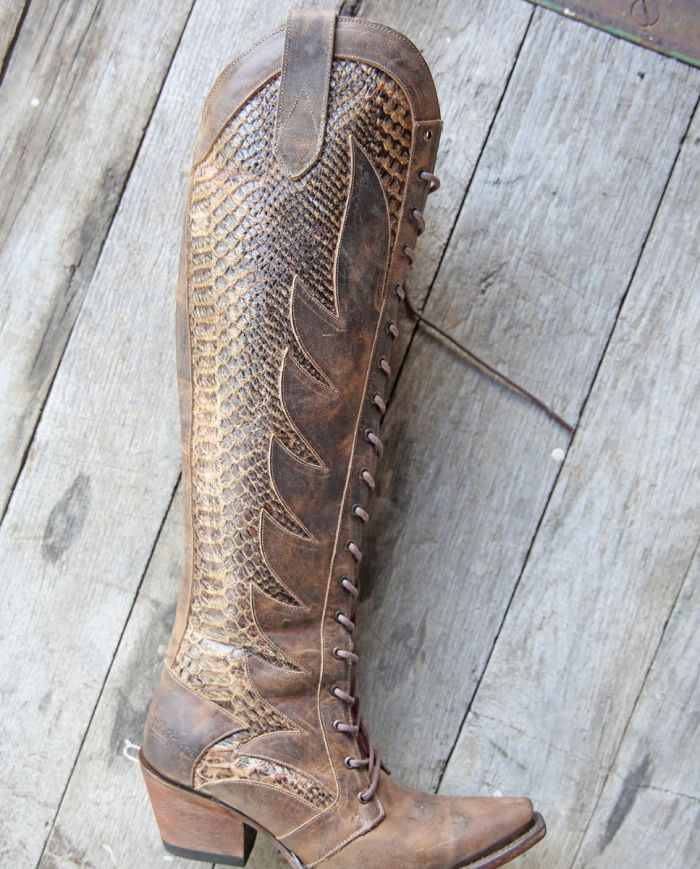 the trail boss boot - brown
