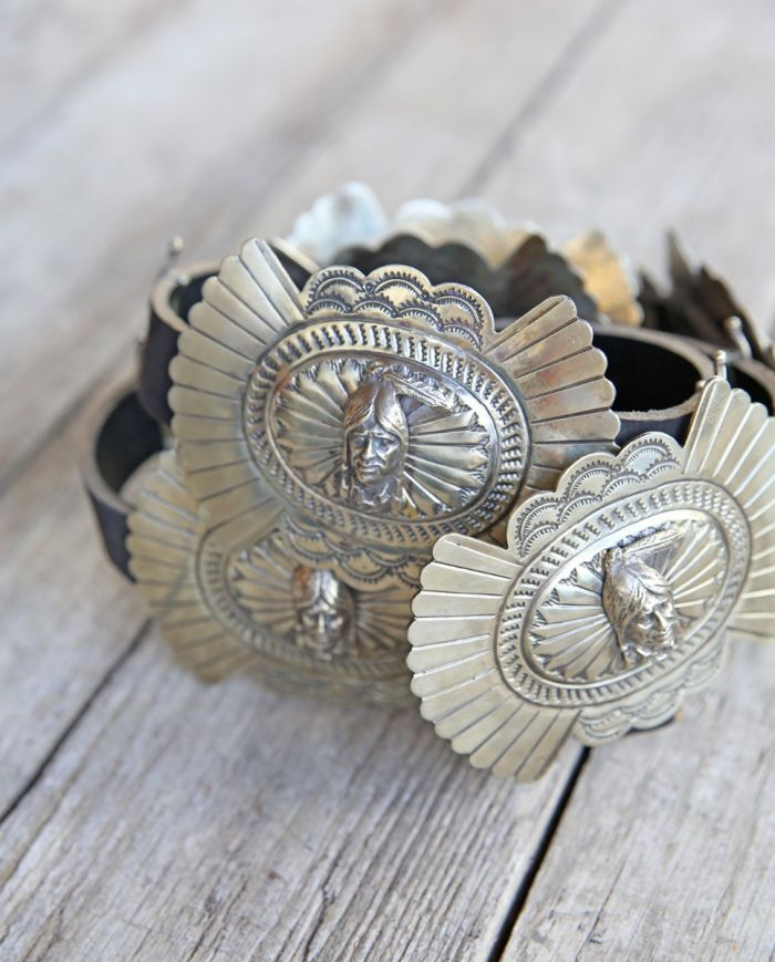 indian chief concho belt