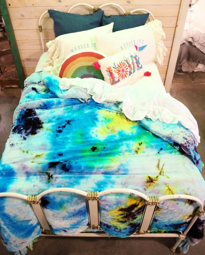 gypsy dreams tie dye bedding