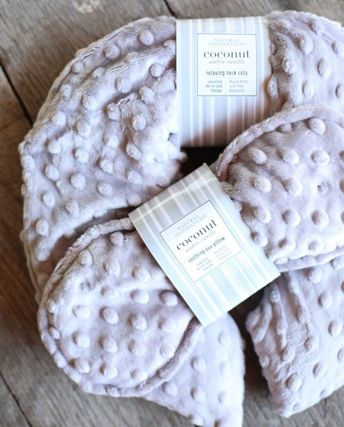 Coconut Ambre Vanille Relaxing Neck Cozy