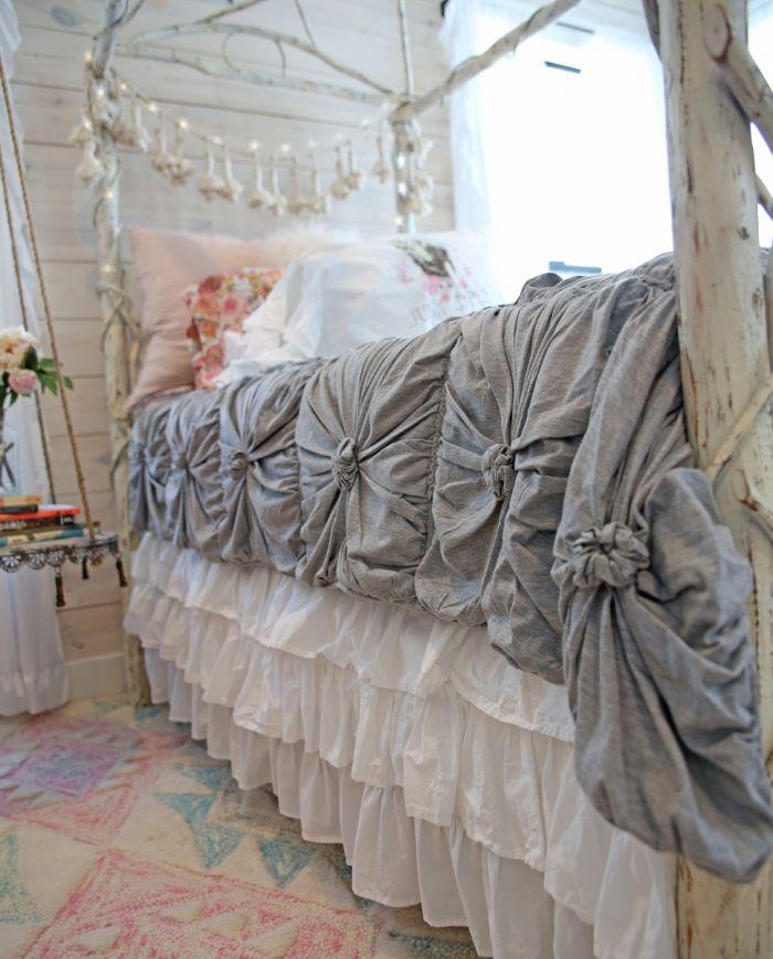 the lazybones jersey comforter-heather grey