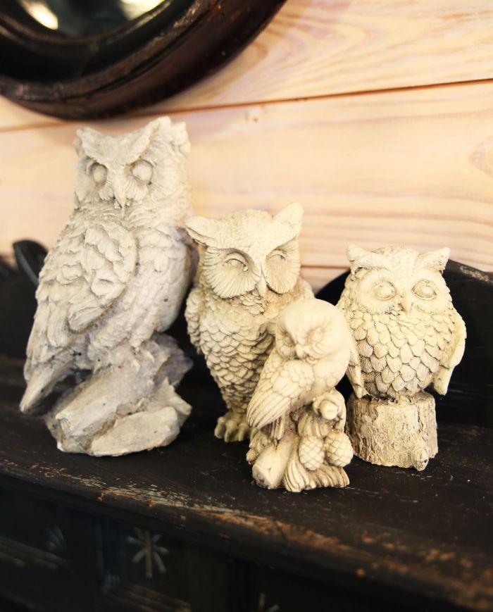 concrete owls