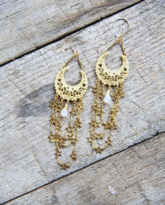 Guiding Star Earrings - Gold