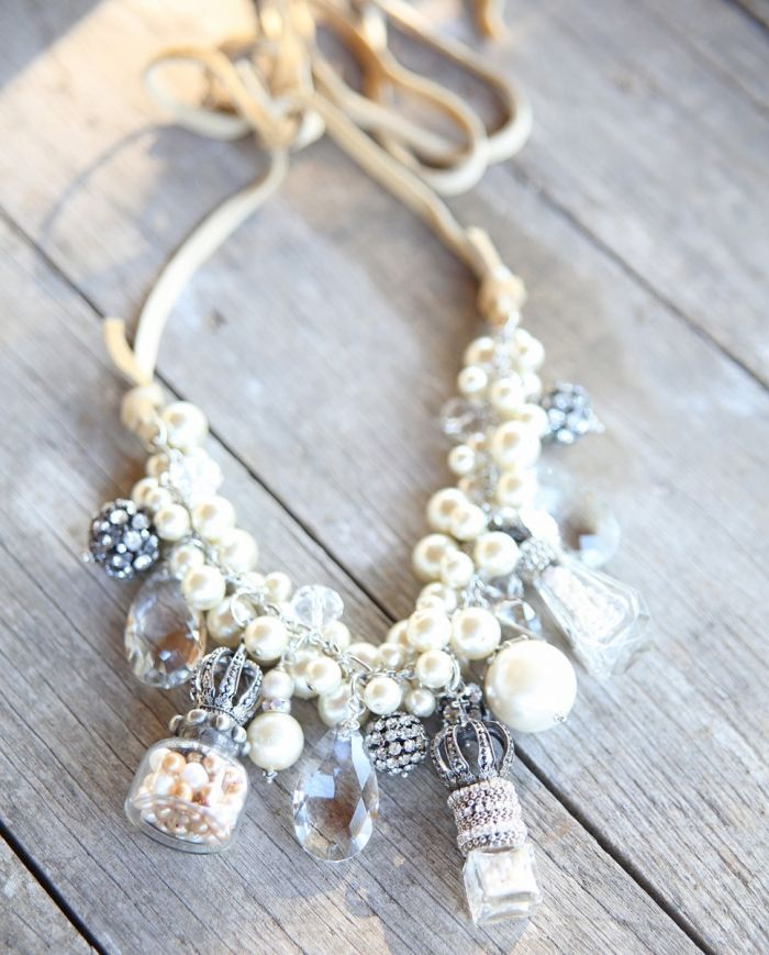 pearl perfume bottle necklace