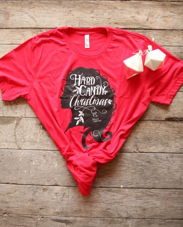 hard candy christmas unisex tee