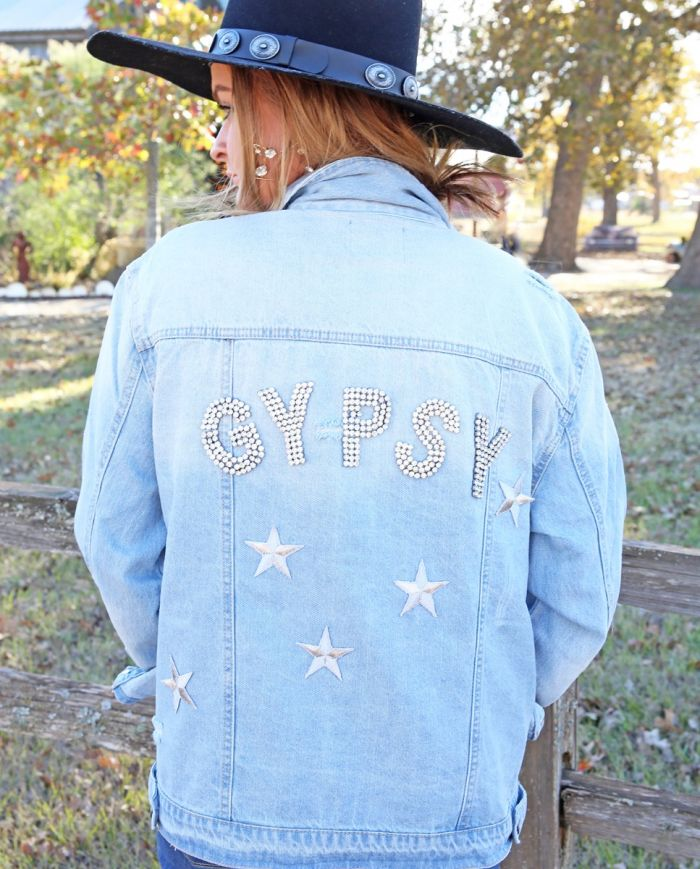 Judith March Gypsy Denim Jacket