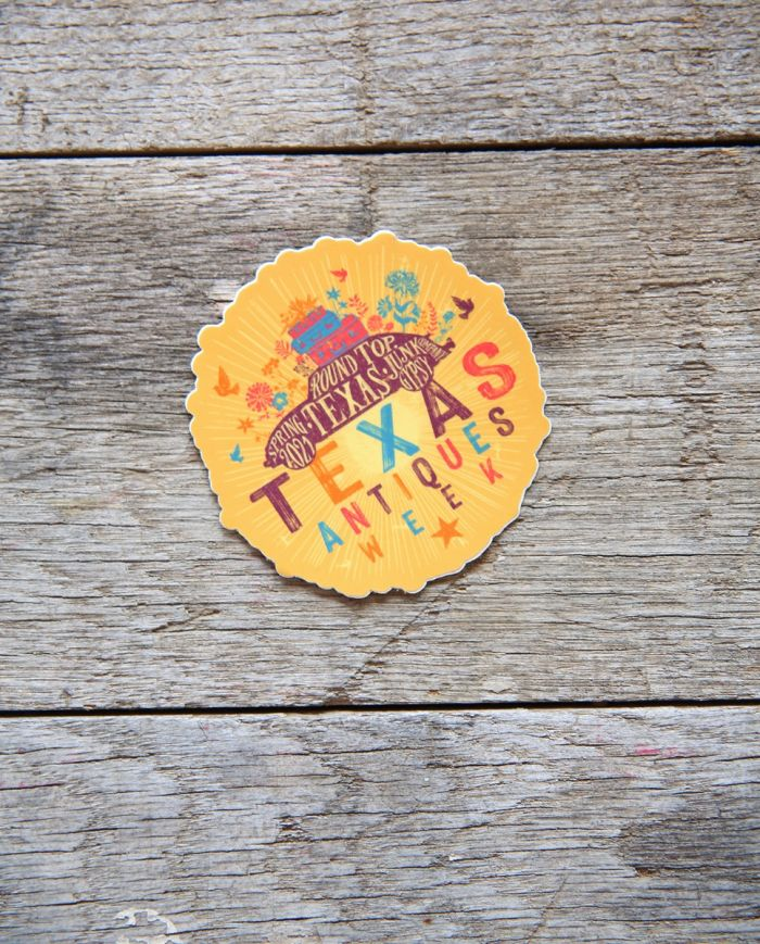 spring 2021 souvenir sticker