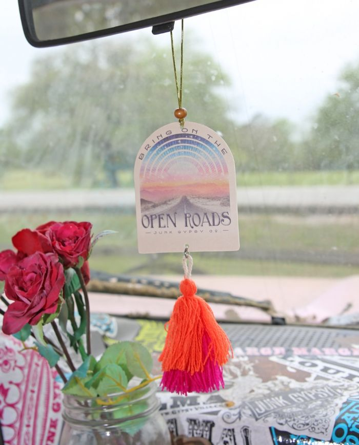 bring on the open roads air freshener