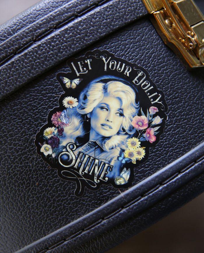 dolly shine sticker