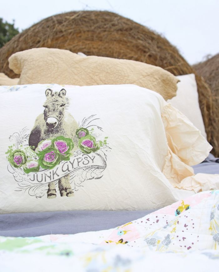 jg cabbage patch donkey pillow shams