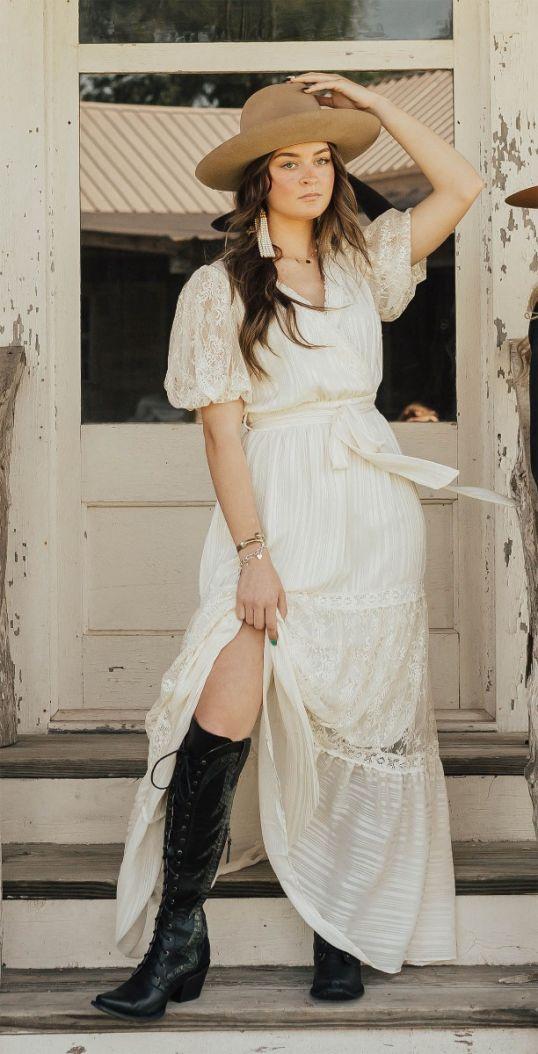 clarabelle lace maxi dress