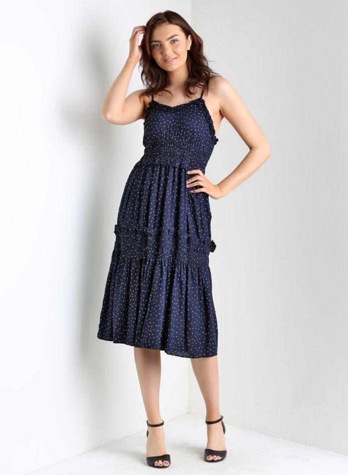 the paiton polka dot dress