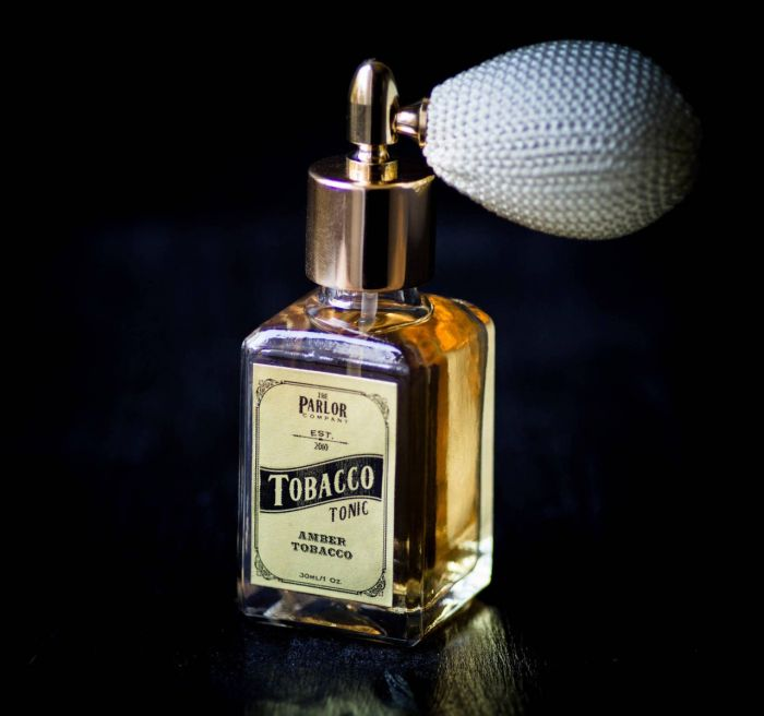 Tobacco Tonic Perfume - Sandalwood Amber Leather Musk