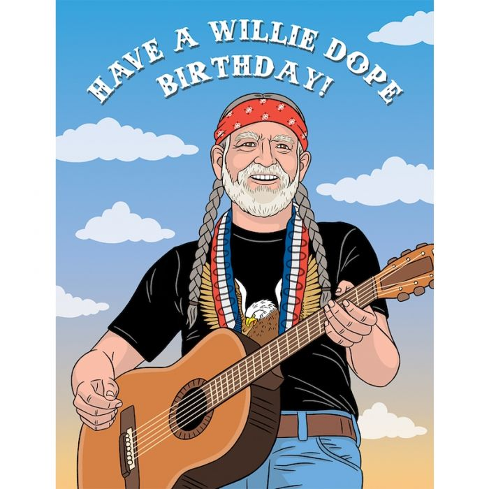 Have a Willie Birthday Card