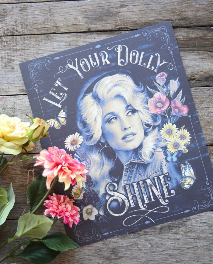 let your dolly shine poster