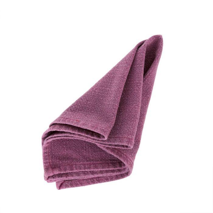 stone washed napkin - maroon