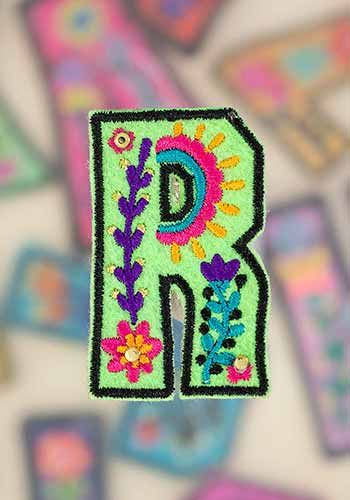 "letter patch ""r"""