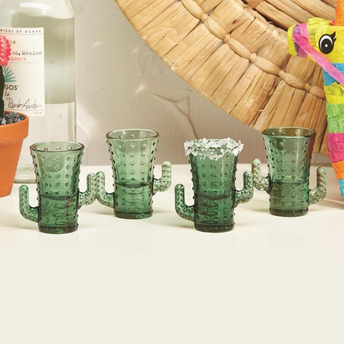cactus shot glass set