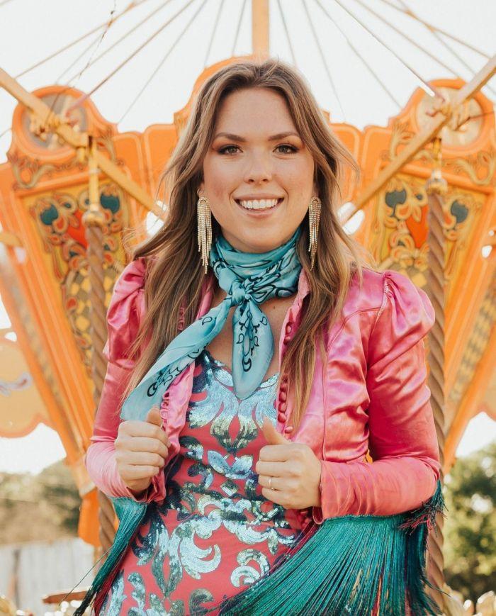 turquoise bandana wild rag