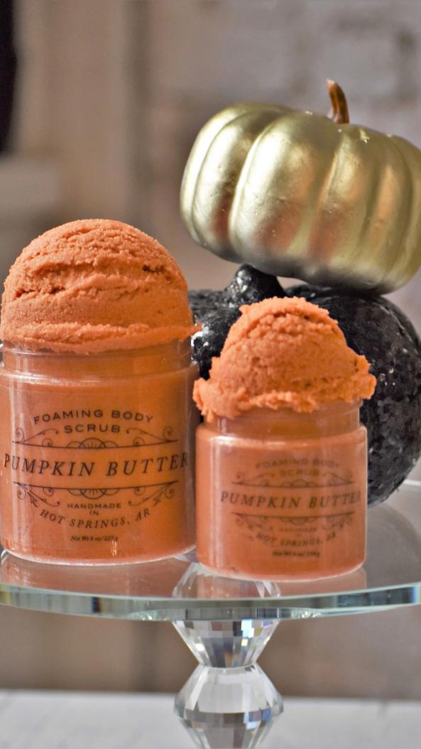 Pumpkin Butter Sugar Scrub