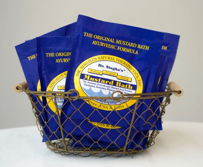 mustard bath packet - 2 oz