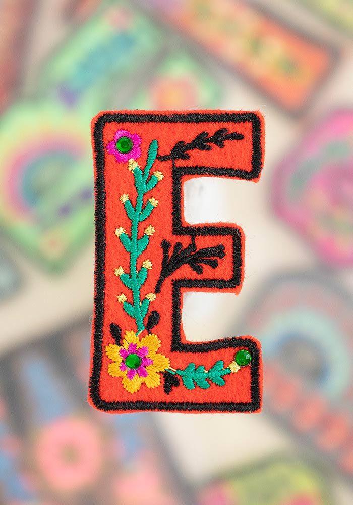 """letter patch """"e"""""""