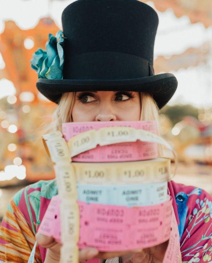 Gypsy Top Hat - handmade in gypsyville