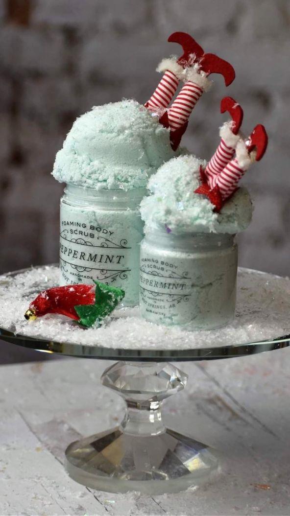 Bathhouse Soapery Peppermint Sugar Scrub