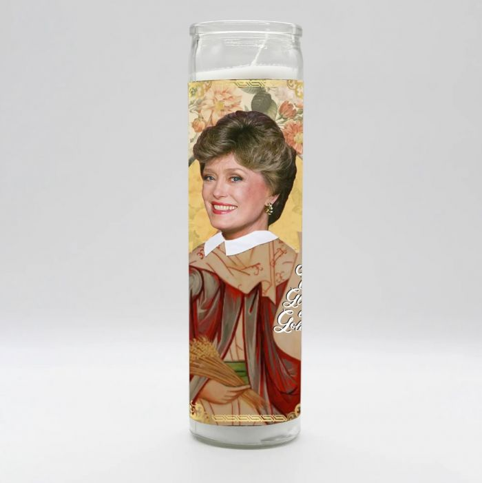 golden girls - blanche candle