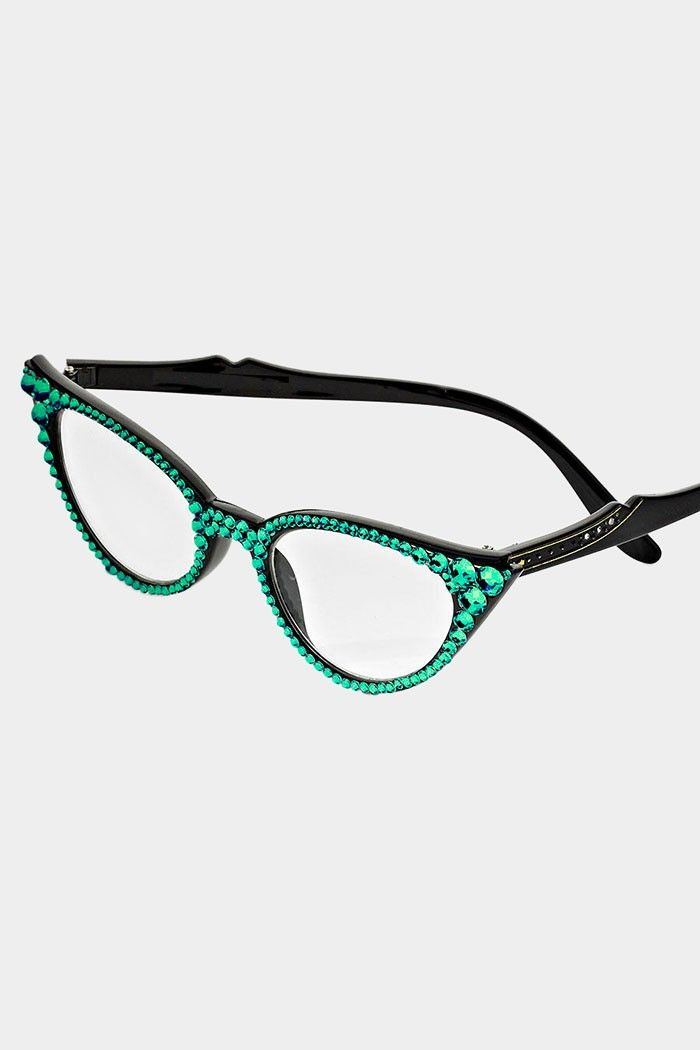 crystal reading glasses