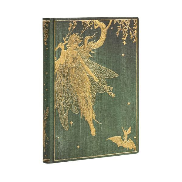 olive fairy hardcover journal