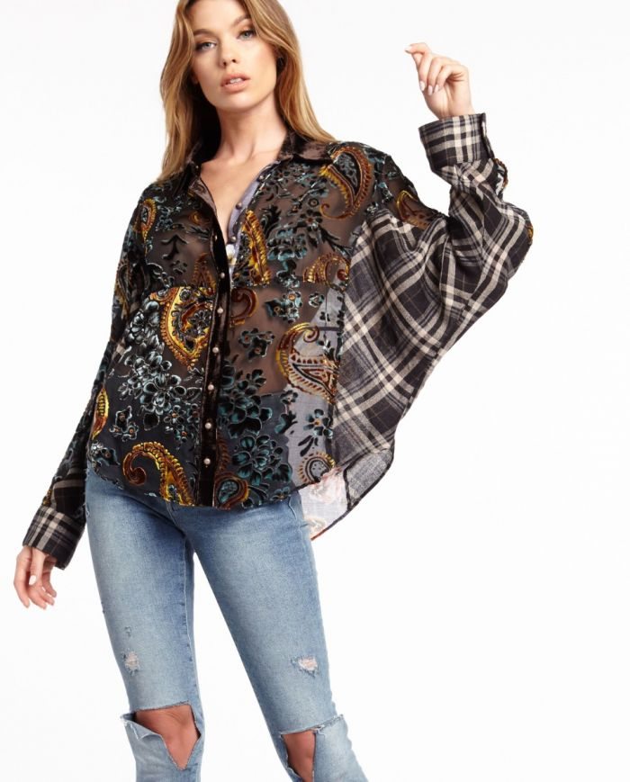 dark bay dolman shirt