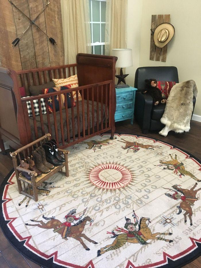 American Dakota Battle Records Rug