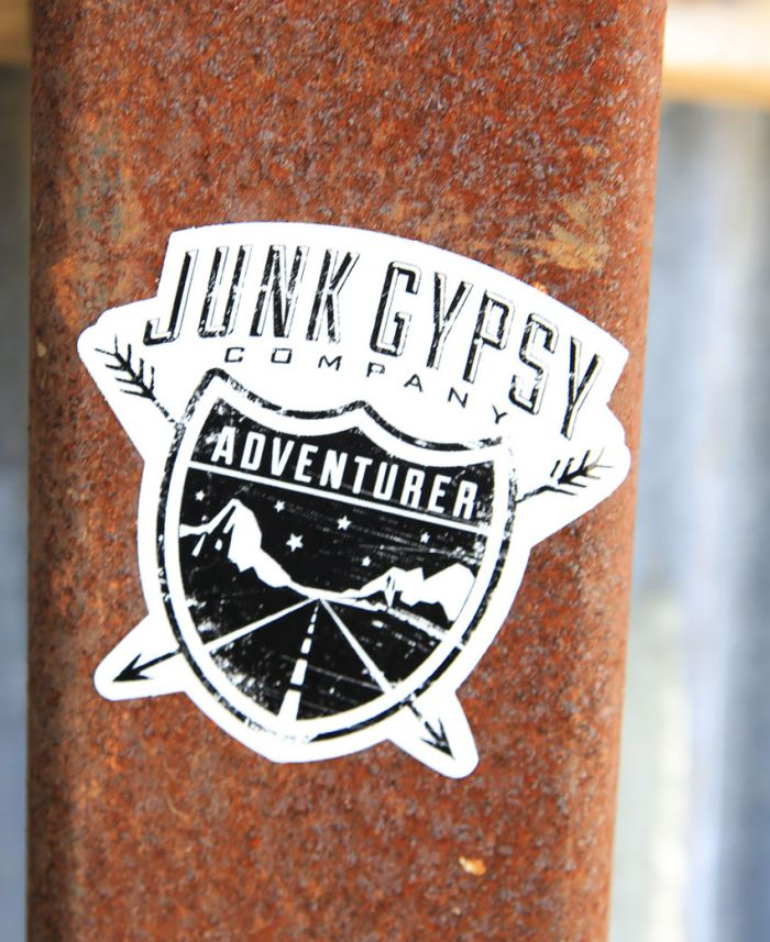 adventurer bumper sticker