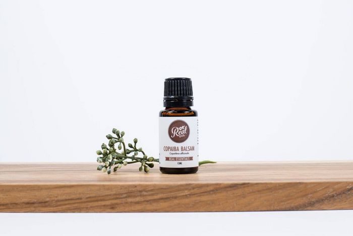 real oil - copaiba balsam essential oil - 15 ml