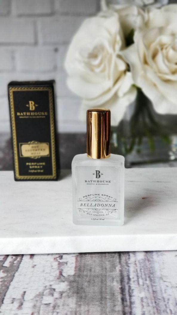 bathhouse perfume oil spray bottle
