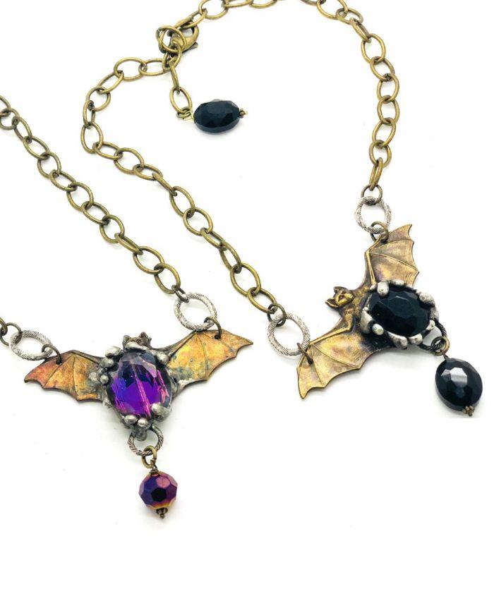 bats in the belfry necklace