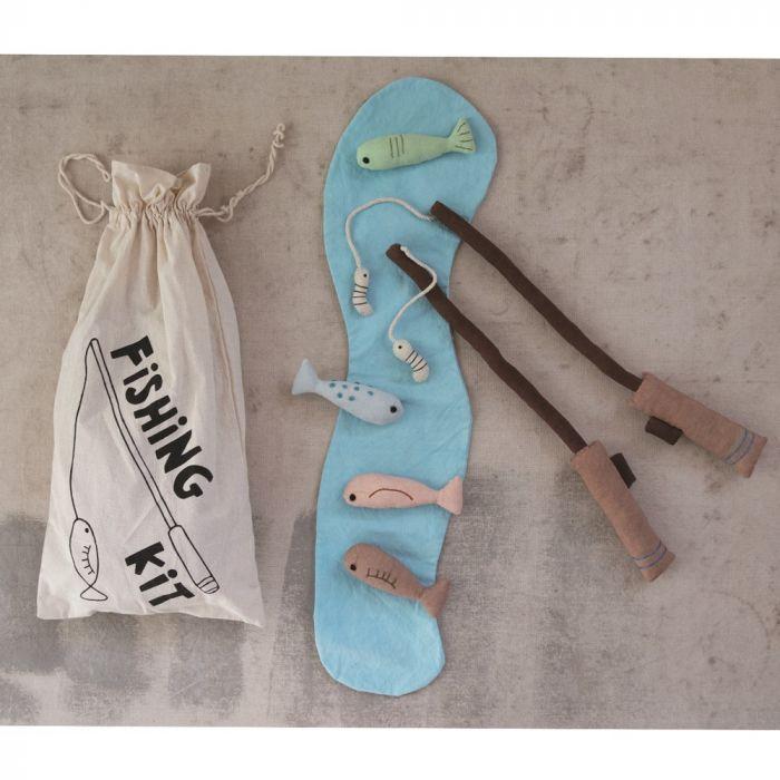 canvas fishing kit