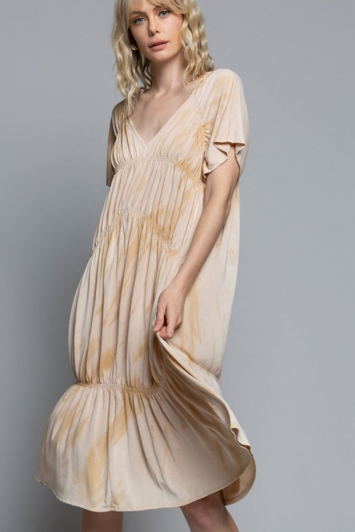 beach sand dress