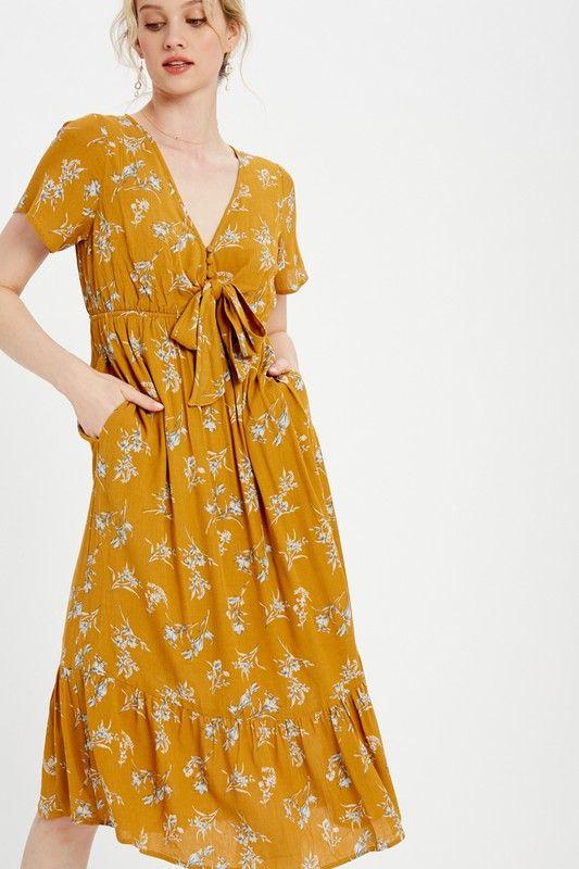 bitterroot valley midi dress